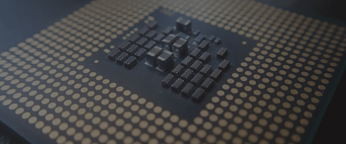 micro chip close up